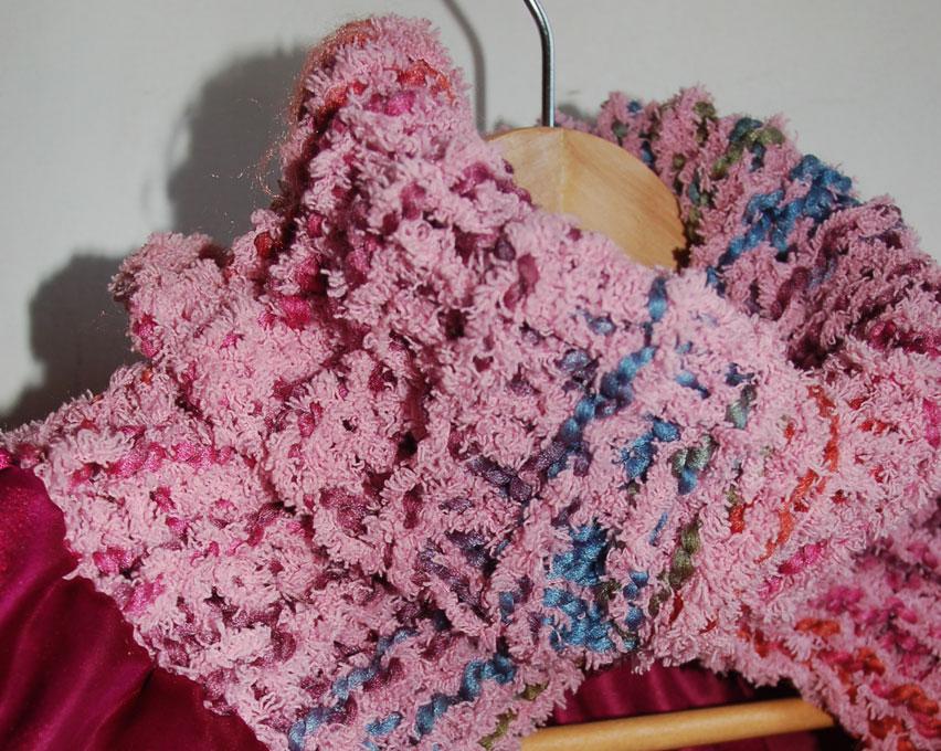 Cape de princesse avec col en laine par Kameleon Factory