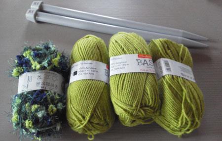 Réaliser un coussin en tricot et couture