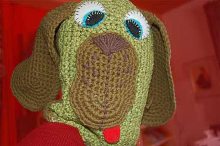 Faire un doudou chien au crochet