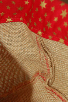 Coudre des sacs ou corbeilles en toile de jute par Kameleon Factory