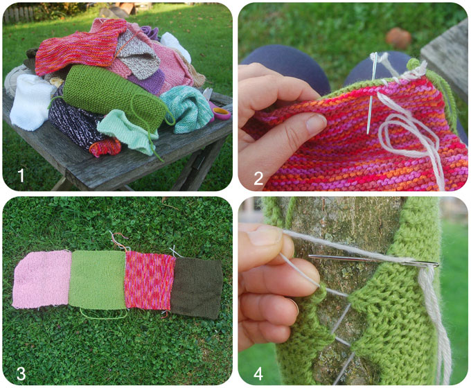 Yarn Bombing DIY en image