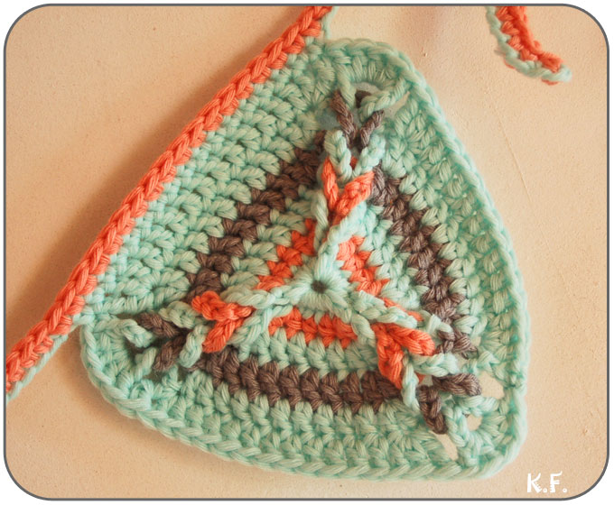 relief des angles au crochet