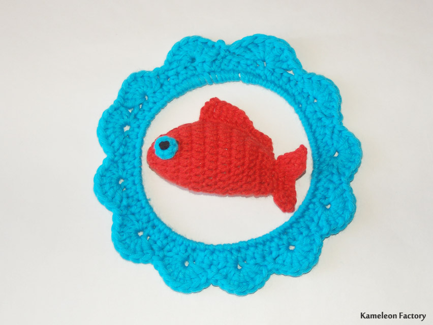 Un aquarium revisité au crochet