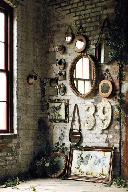 le mur de miroir