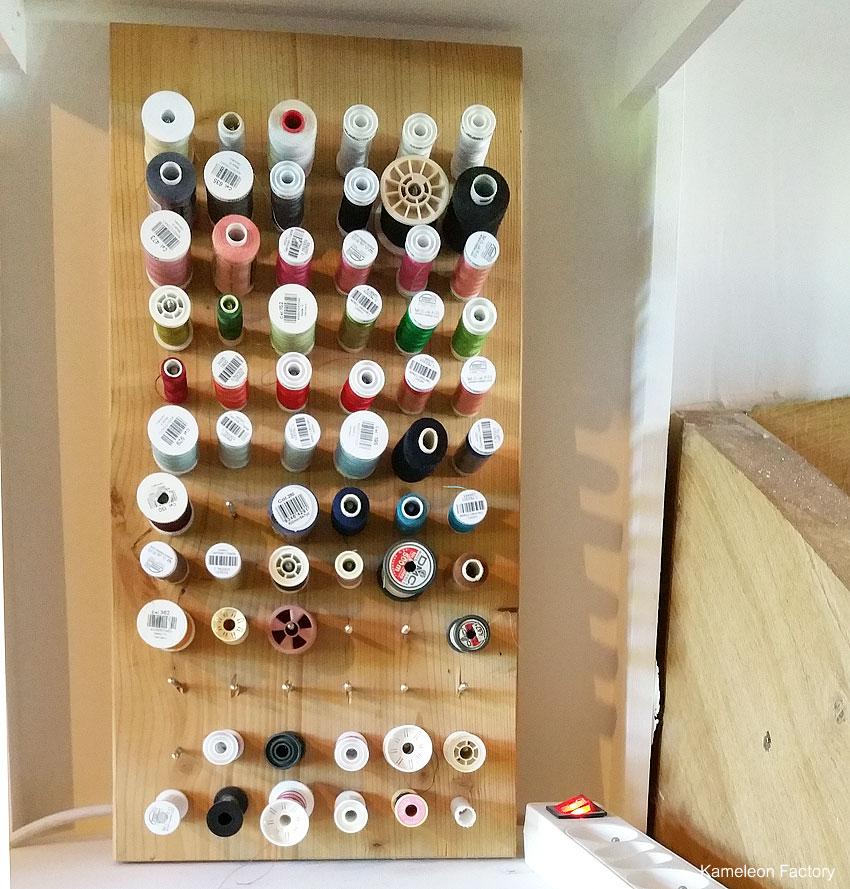 le range bobine du coin couture kameleon factory. Black Bedroom Furniture Sets. Home Design Ideas
