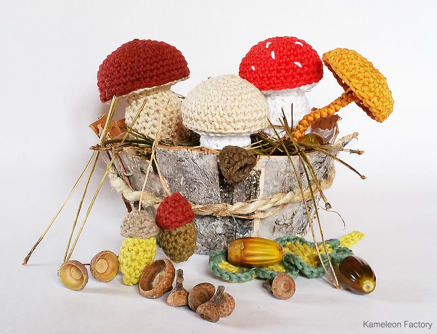 Crochet nature #2 Corbeille d'automne