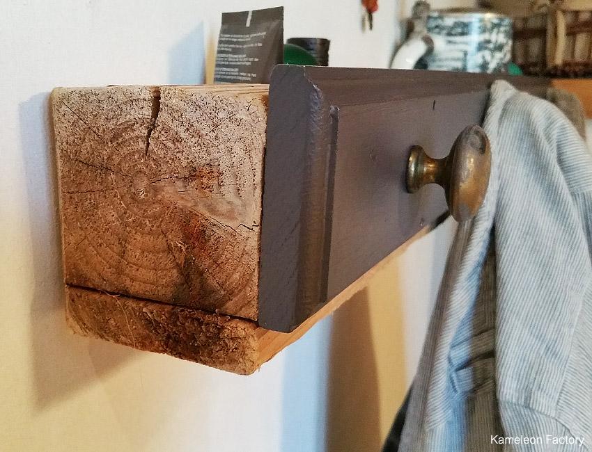 DIY une étagère pour la salle de bain