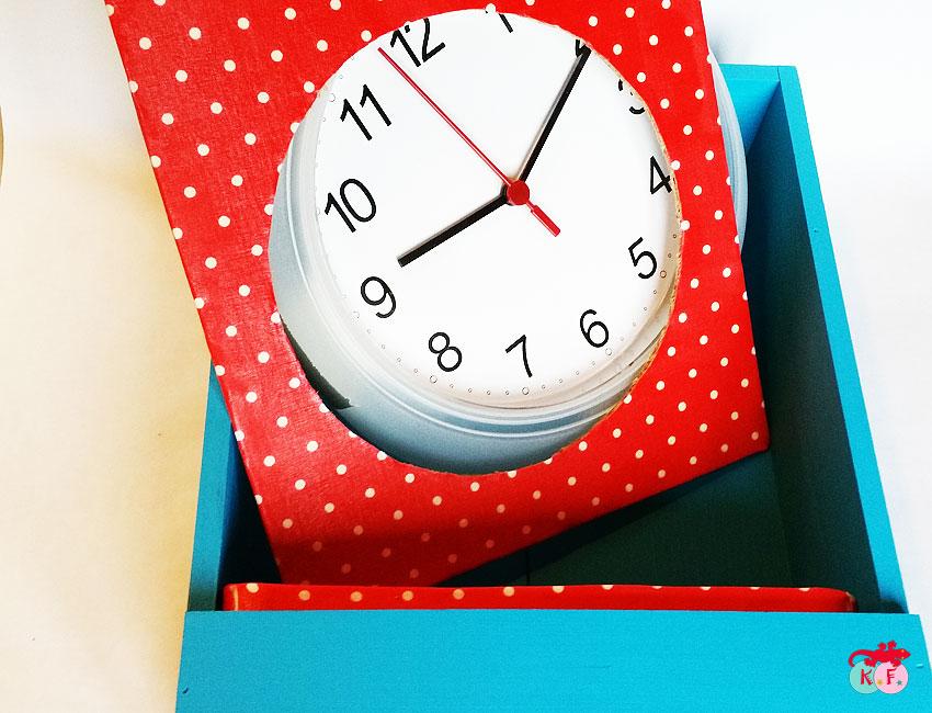 Comment fabriquer une horloge avec une caisse à vin
