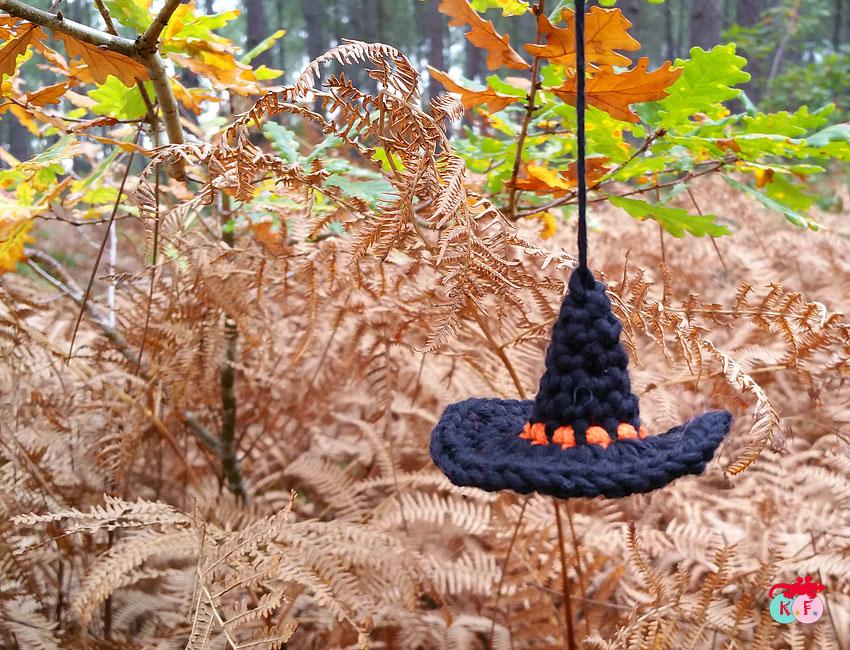 DIY chapeau sorcière