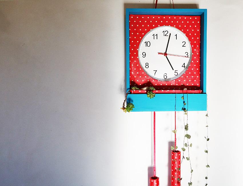 Horloge vintage pendule carillon