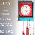 DIY Pendule carillon horloge étagère