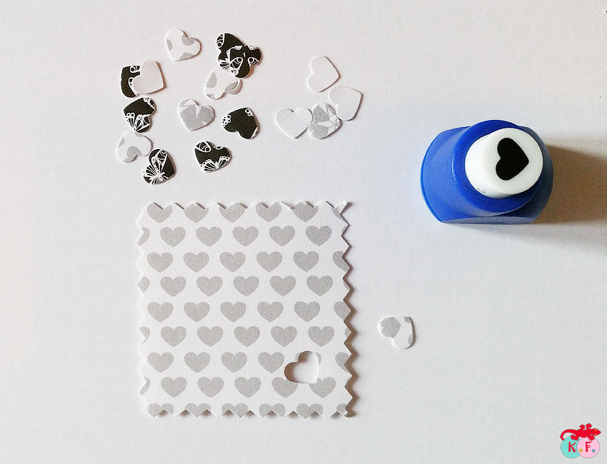 papier décor pour étiquette avent