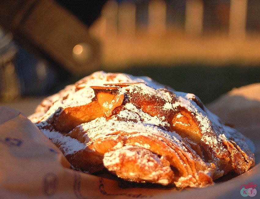 pain au chocolat et amande