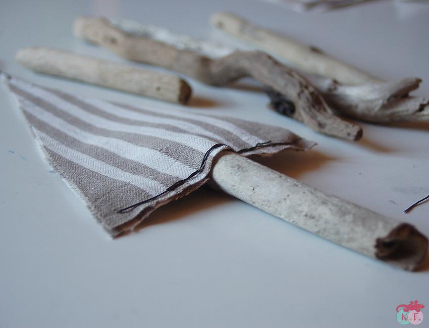 Sapin tissu bois sans couture