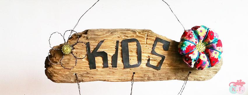 pancarte bois flotté déco diy