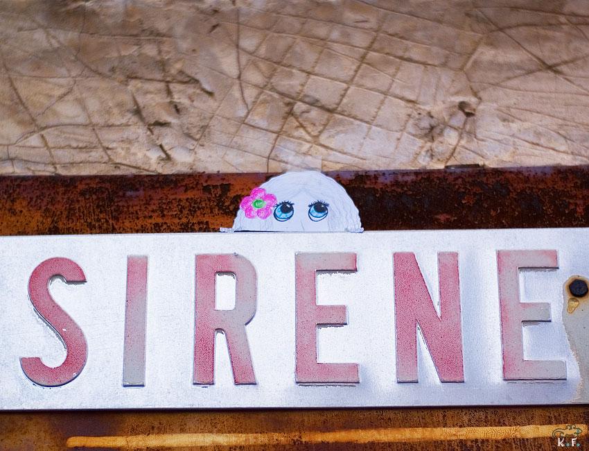 Jeu de mot pour sirène…