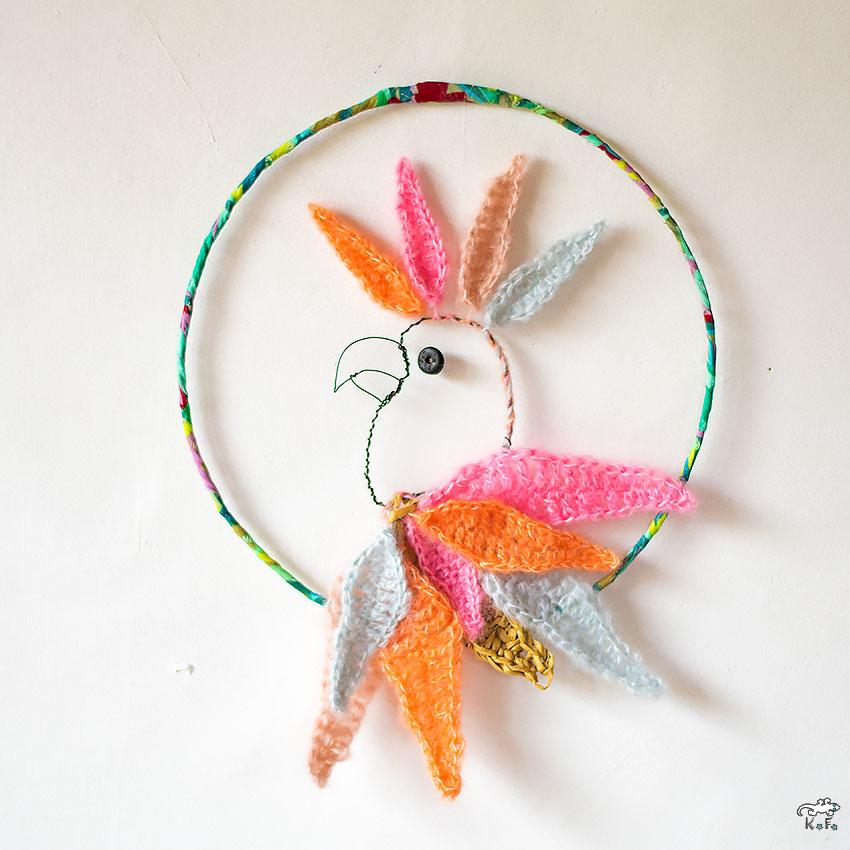 Perroquet suncatcher