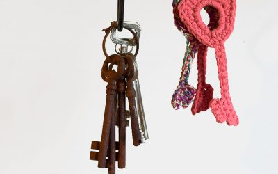 Un trousseau de clefs pour The Serial Crocheteuses and More n° 349