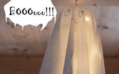 Vite un fantôme pour Halloween en DIY express