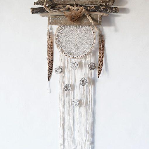attrapeur de rêve suspension murale décorative