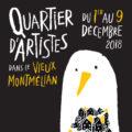 Quartier d'artistes dans le vieux Montmélian du 1 au 9 décembre 2018