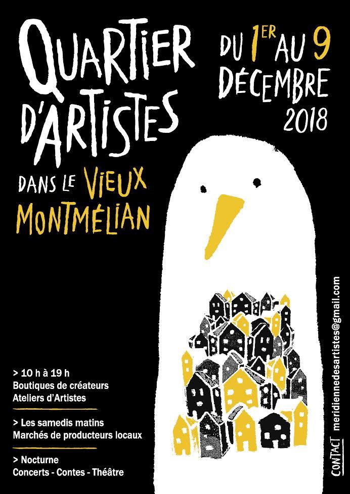 Quartier d'artistes 2018 : affiche