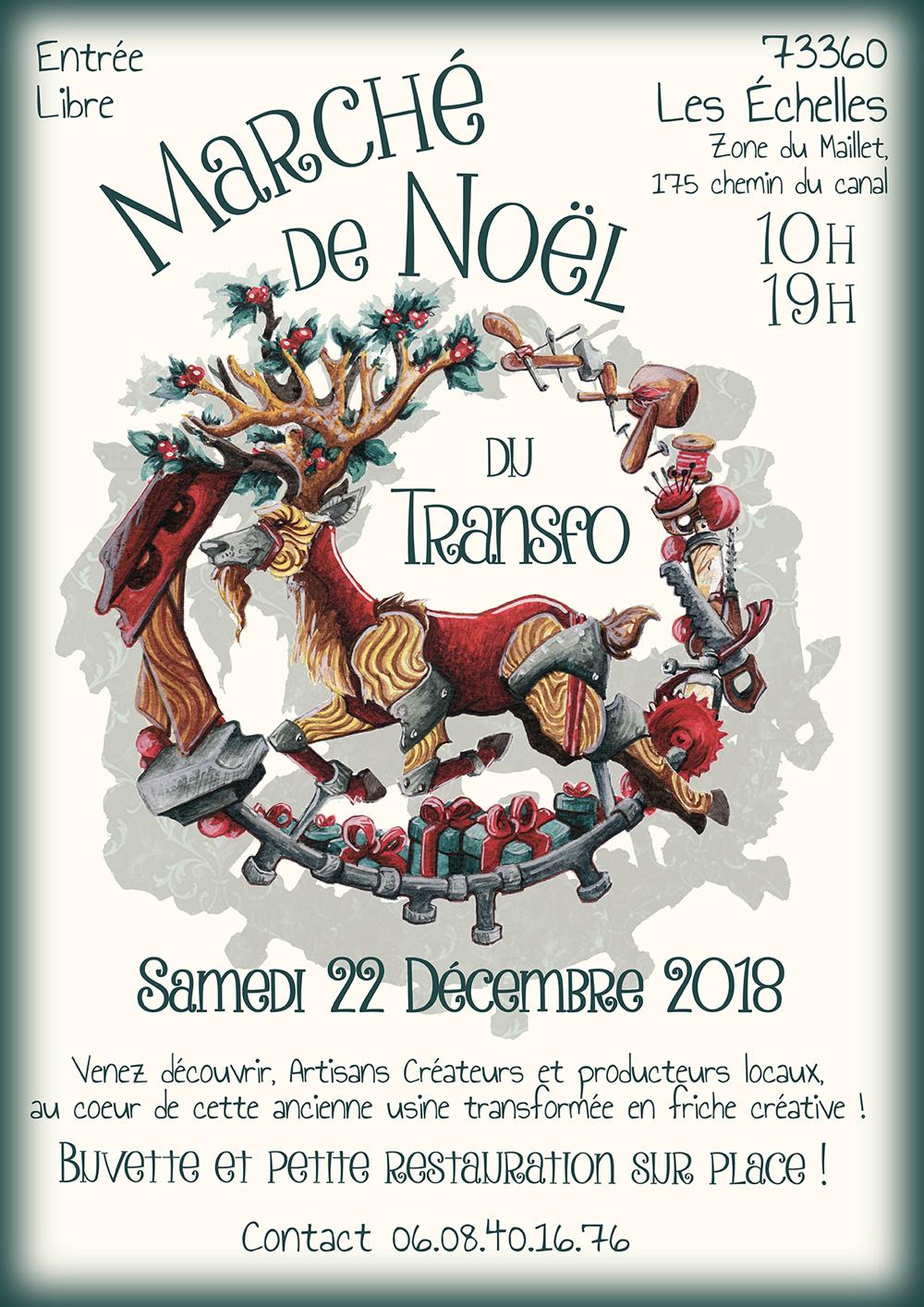 Marché de Noël au Transfo