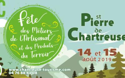 Fête des Métiers de l'Artisanat et des Produits du Terroir à St Pierre de Chartreuse