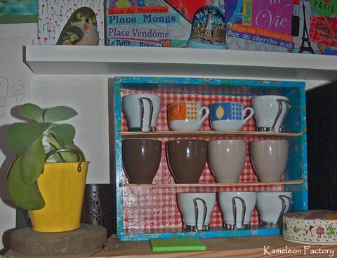 DIY étagère café