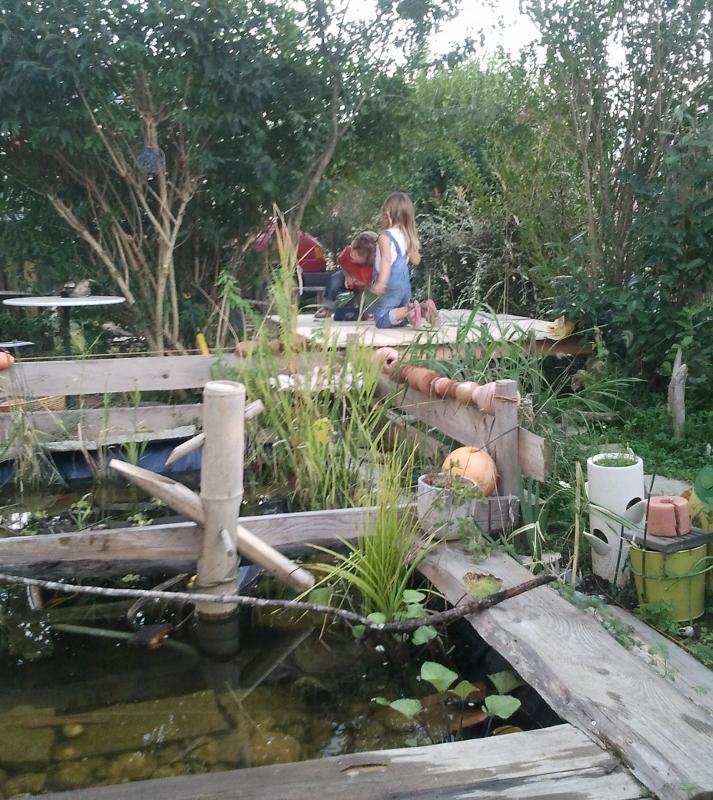 Faire une mare au jardin par Kameleon Factory