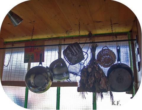 tringle à rideau pour suspension cuisine
