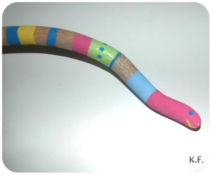 Serpent bois flottés DIY par Kameleon Factory