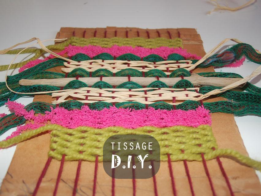 DIY tissage et métier à tisser par Kameleon Factory