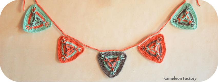 Triangle au crochet