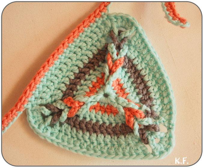 relief des angles au crochet