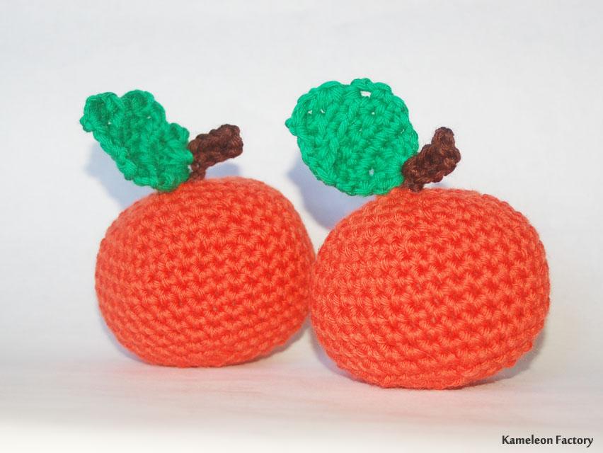 orange au crochet