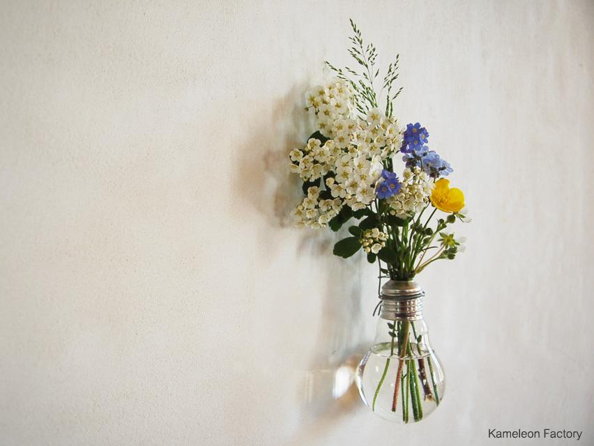 Transformer une ampoule en vase