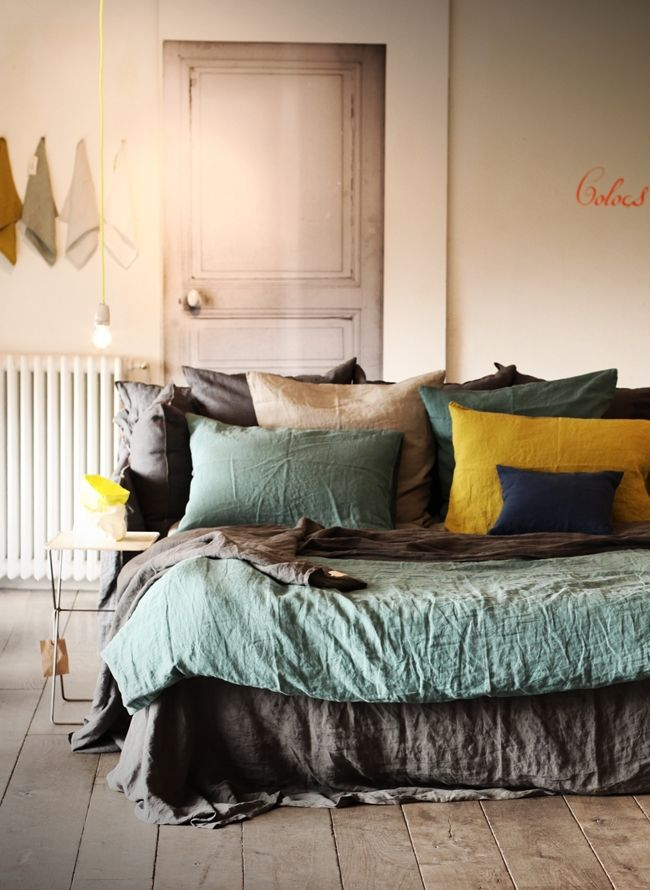 Parure de lit en lin