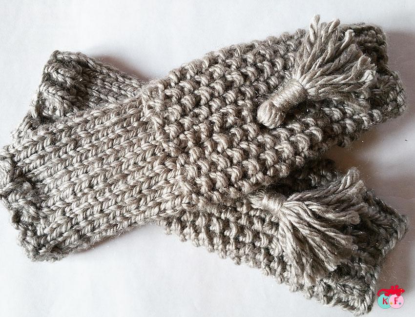 tricoter des gants mitaines