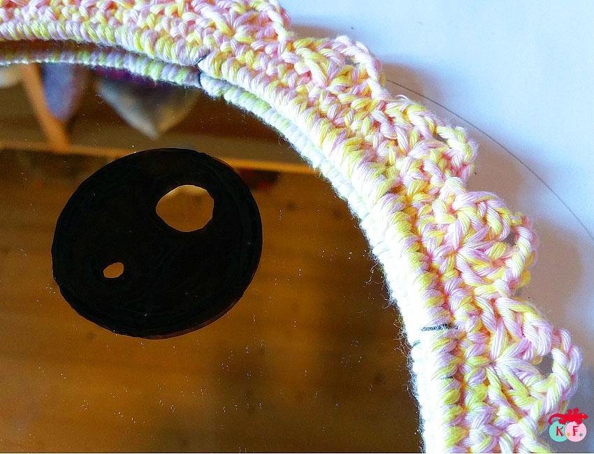 miroir crochet Kawaii