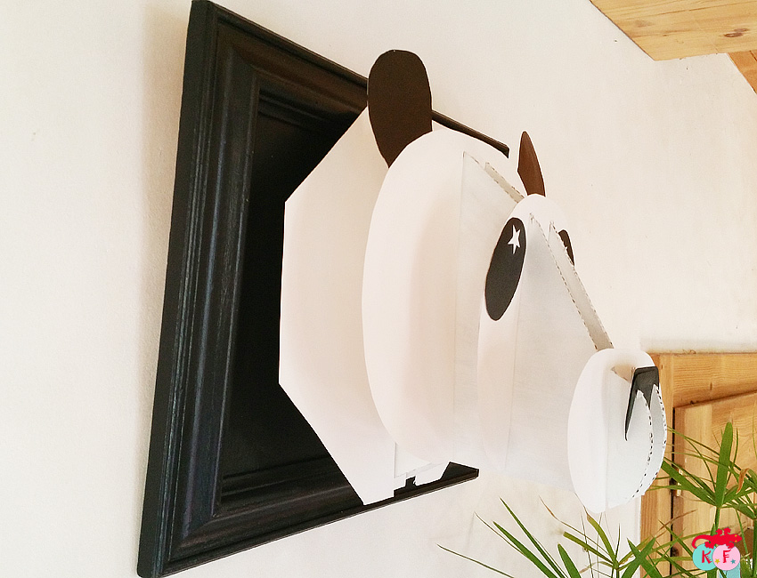 panda trophé
