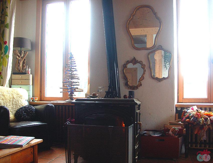 mur de miroir