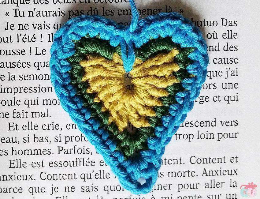 maxi coeur pour marque-page