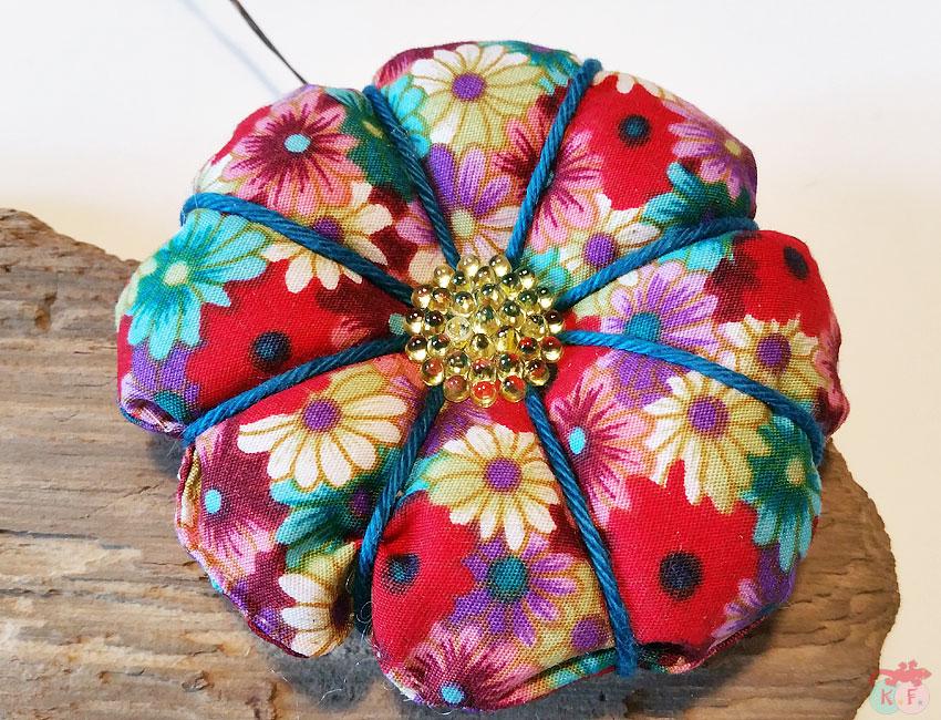 DIY fleur en tissu