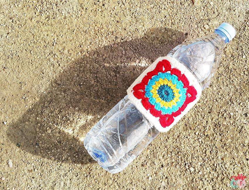 DIY bandeau de bouteille au crochet