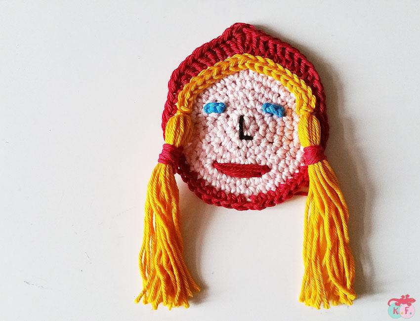 Chaperon rouge crocheté