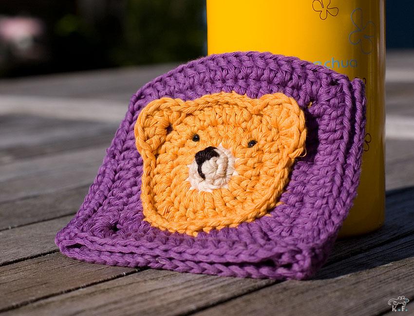 ours au crochet sur granny