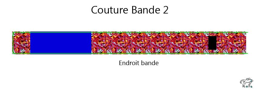 couture bandeau du porte crayon DIY carnet