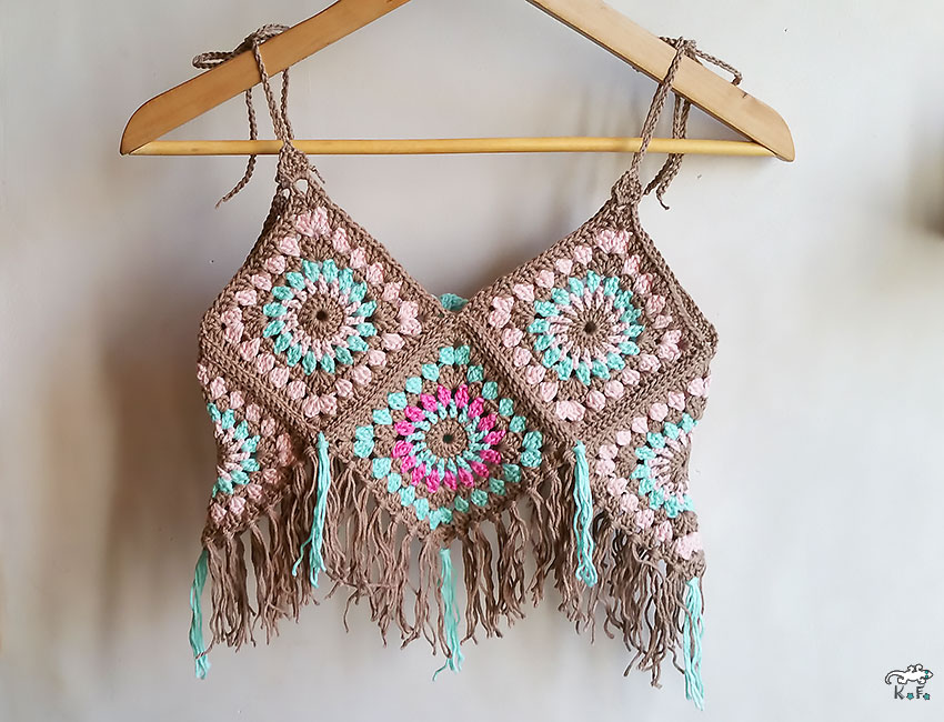 top en granny square
