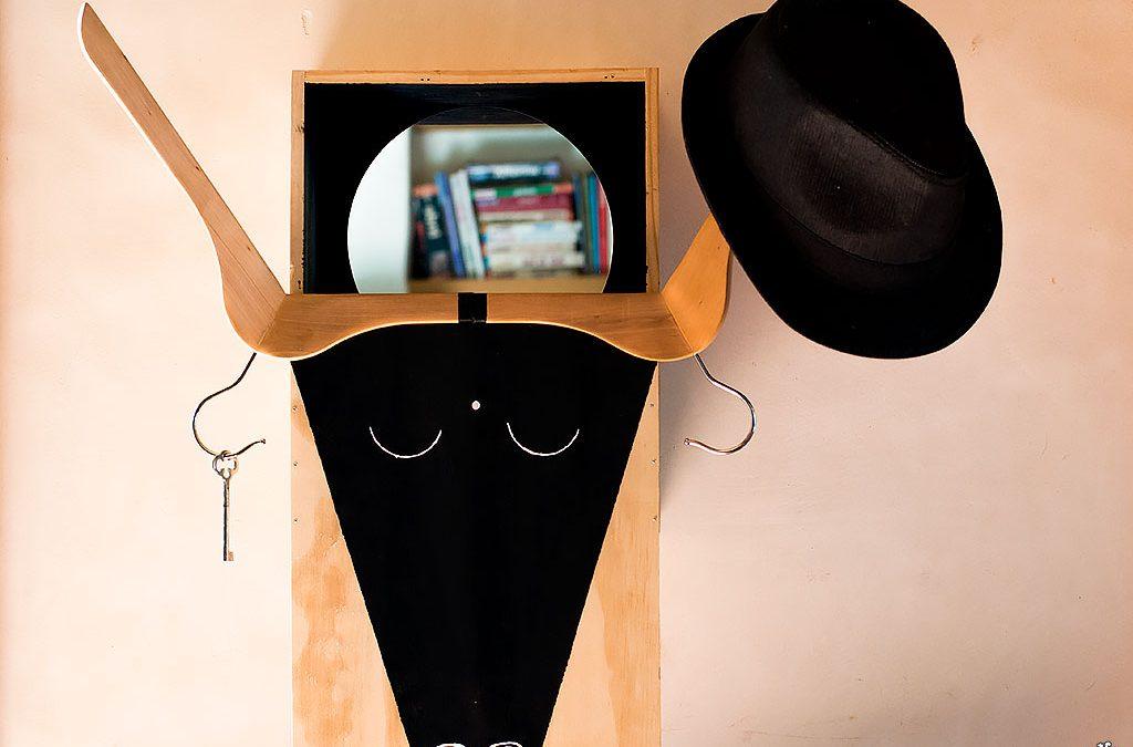Le DIY rangement de la rentrée: La Cow Box ou l'étagère trophée Upcycling